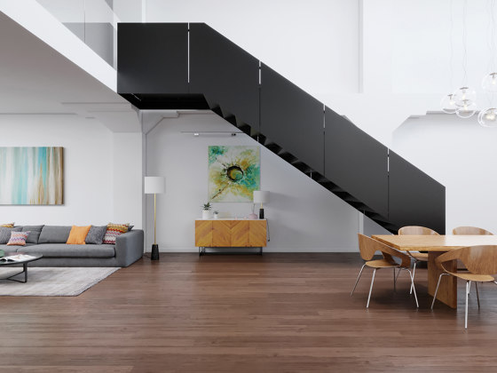 Black Mamba by Siller Treppen | Staircase systems