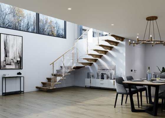 Cubus 3 by Siller Treppen | Staircase systems