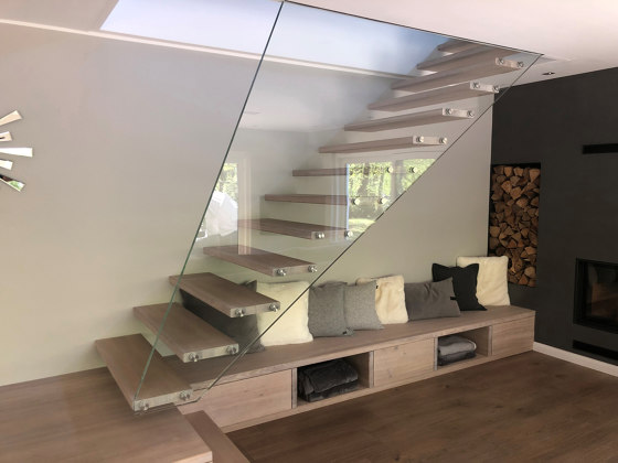 Mistral Edge by Siller Treppen | Staircase systems