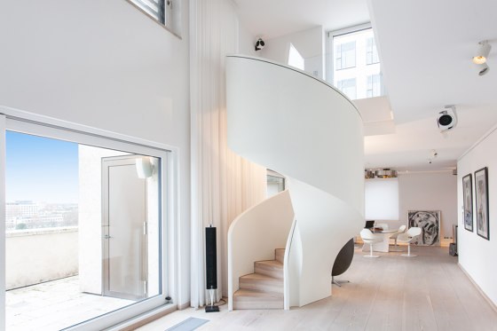 Tornado Frankfurt by Siller Treppen | Staircase systems