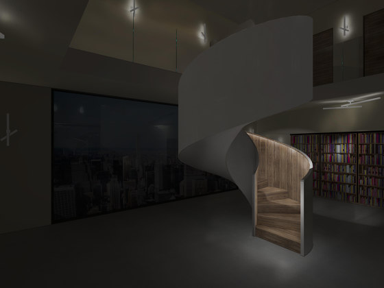Tornado Inspire by Siller Treppen | Staircase systems