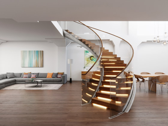 Viper 1 by Siller Treppen | Staircase systems