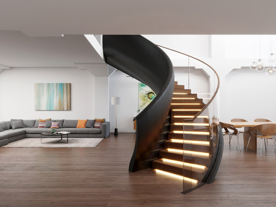 Viper 3D by Siller Treppen | Staircase systems
