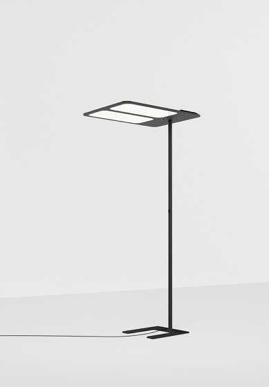 XT-S TWO SIDE FLOOR CHARCOAL by Tobias Grau | Free-standing lights