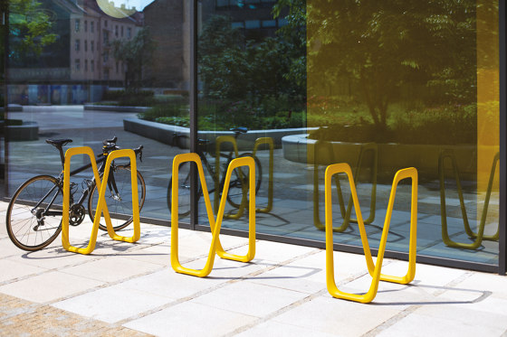 elk   bicycle stand by mmcité   Bicycle stands