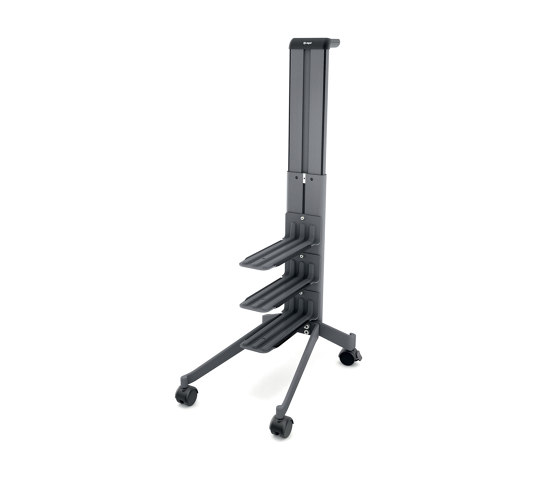 """""""Workplace"""" Office Caddy, one-sided, mobile pedestal by Sigel 