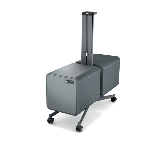 """Set III """"Workplace"""" Office Caddy, one-sided + add-on set for the two-sided caddy, incl. boxes, 1 set by Sigel 