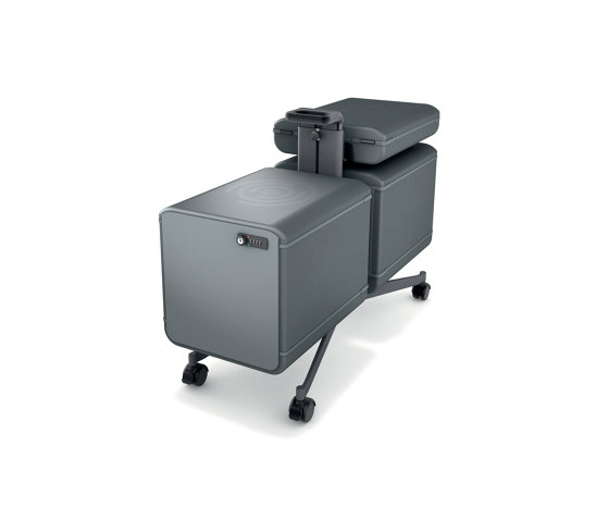 """Set IV """"Workplace"""" Office Caddy, one-sided + add-on set for the two-sided caddy, incl. boxes, 1 set by Sigel 