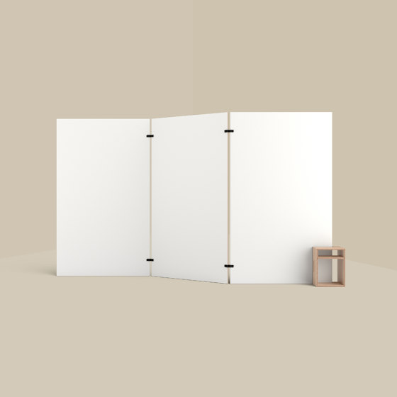Cube – Whiteboard Stand and Stool by Studiotools | Privacy screen