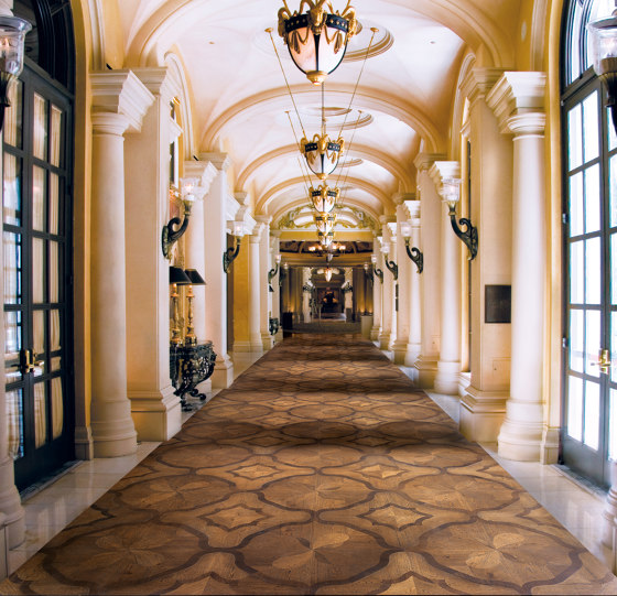 Heritage Panels   Doge by Foglie d'Oro   Wood flooring
