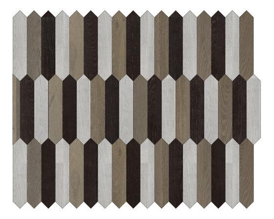 Special Panel Matita Installation | 101 by Foglie d'Oro | Wood flooring