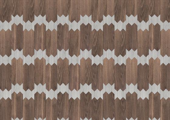 Special Panel Matita Installation   180 by Foglie d'Oro   Wood flooring
