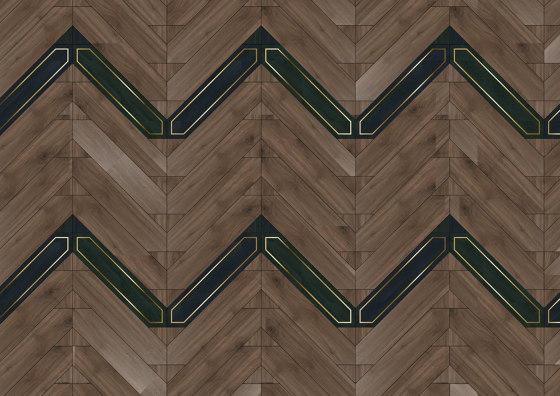 Special Panel Matita Installation | 241 by Foglie d'Oro | Wood flooring
