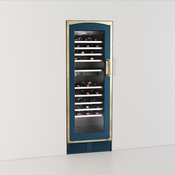 REFRIGERATORS AND WINE CELLARS | MULTI-TEMPERATURE WINE CABINET 60 CM PRO SERIES by Officine Gullo | Refrigerators