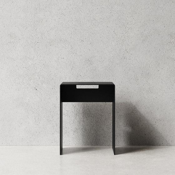 Stool Black by Nichba Design   Stools
