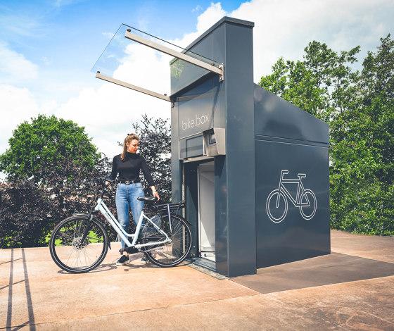bike.tunnel 31 by bike.box | Bicycle lockers