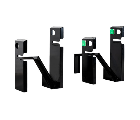 pedal.clip systems V2.0 high-low 4 by bike.box | Bicycle stands