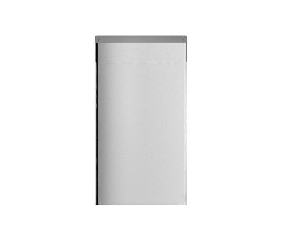 Wall mounted or free standing 30L bin, with self-closing flap by Duten | Bath waste bins