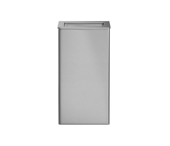 Tapered style wall mounted or free standing 30L bin by Duten | Bath waste bins