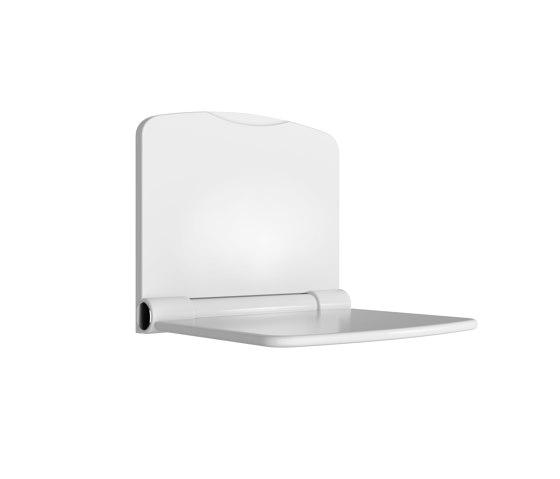 Wall-mounted lift up shower seat by Duten | Shower seats