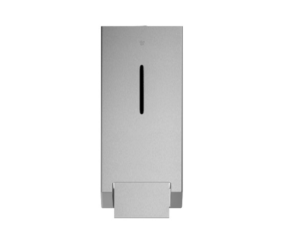 Stainless steel wall mounted foam soap dispenser, 1000ml capacity by Duten | Soap dispensers