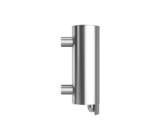 Stainless steel wall mounted liquid soap dispenser, 250ml capacity by Duten | Soap dispensers