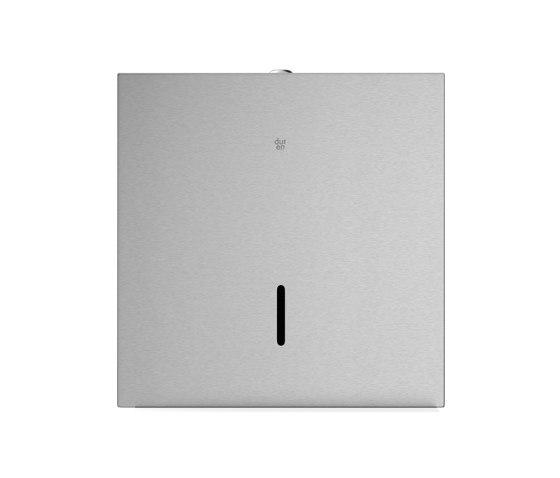 Square jumbo toilet tissue dispenser by Duten | Paper roll holders