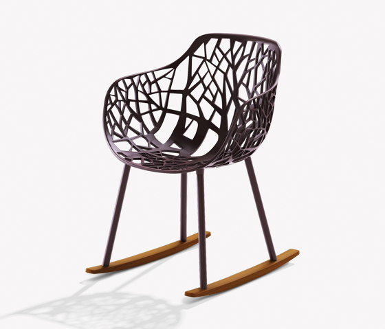 Forest rocking armchair by Fast   Chairs