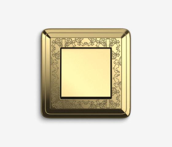 ClassiX | SwitchArt Brass by Gira | Push-button switches