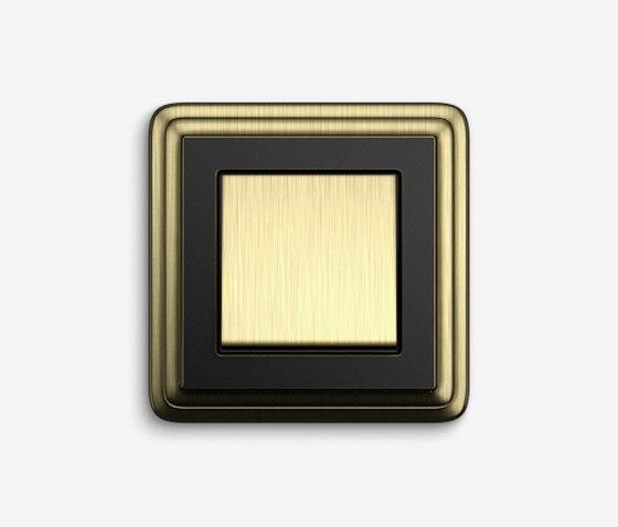 ClassiX | SwitchBronze black by Gira | Push-button switches