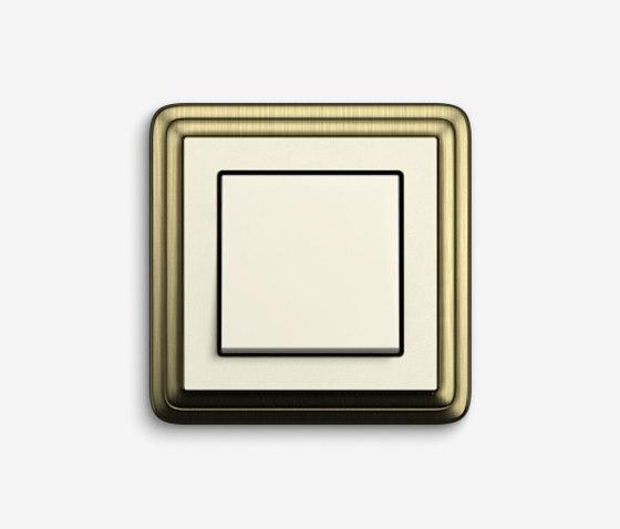 ClassiX | SwitchBronze cream white by Gira | Push-button switches