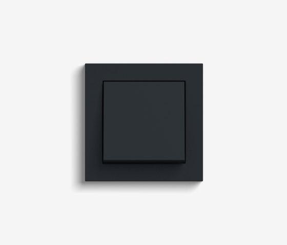 E2 | Switch Black matt by Gira | Push-button switches