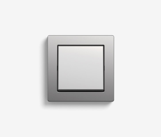 E2 | Switch Stainless Steel by Gira | Push-button switches
