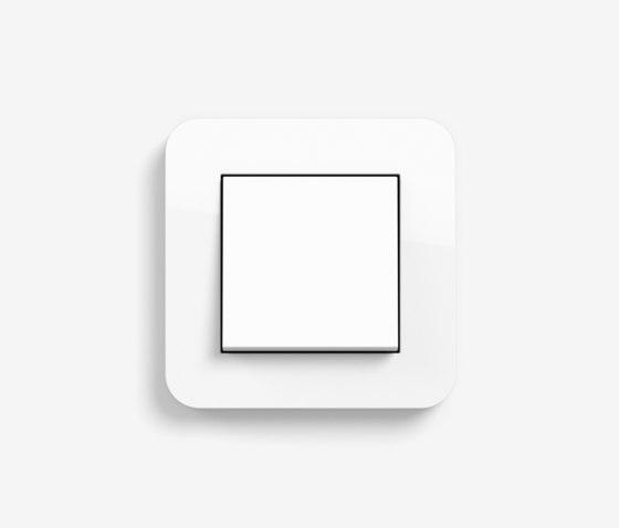 E3 | Switch Pure white glossy by Gira | Push-button switches