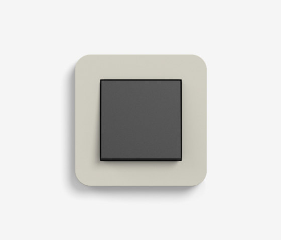 E3   Switch Sand with black by Gira   Push-button switches