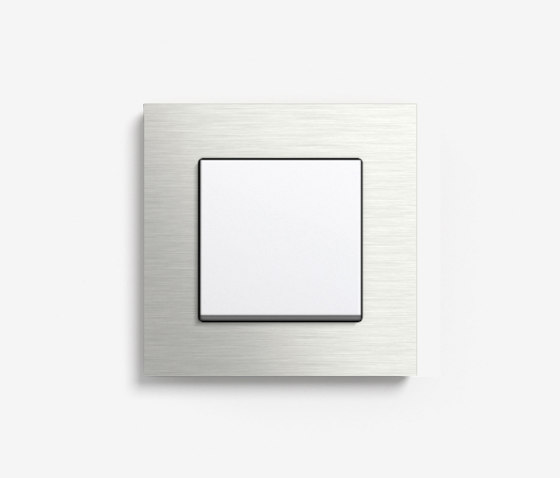 Esprit Metal | Switch Stainless steel by Gira | Push-button switches