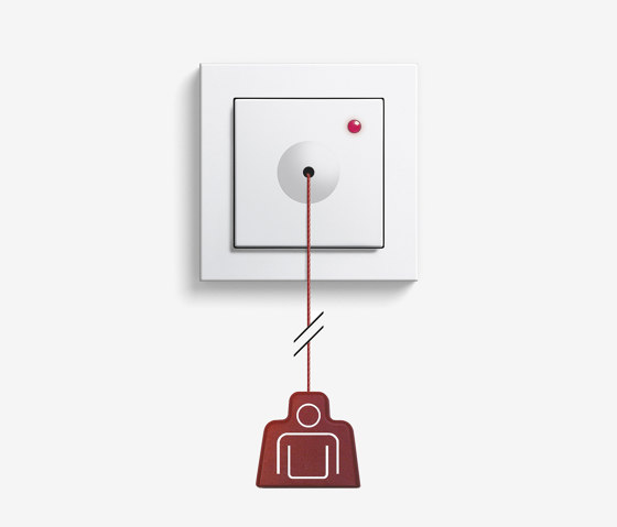 Callsystem | Pull-cord button Plus by Gira | Building communication systems