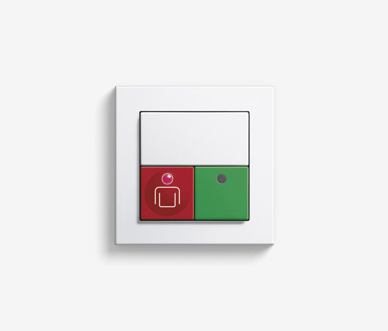 Callsystem | Room module with call and presence button by Gira | Building communication systems