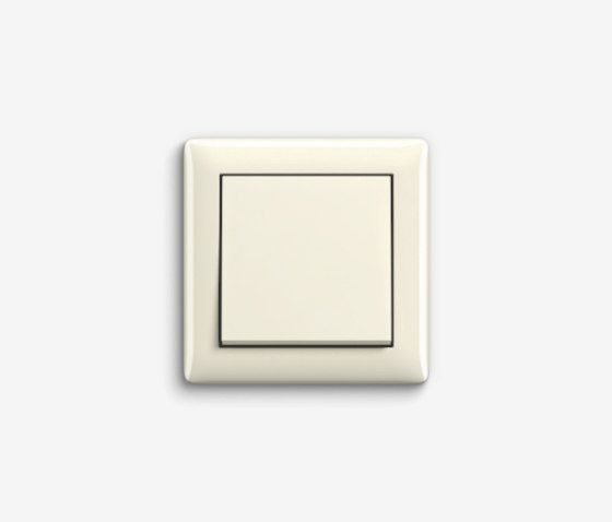 Standard 55 | Switch Cream white by Gira | Push-button switches