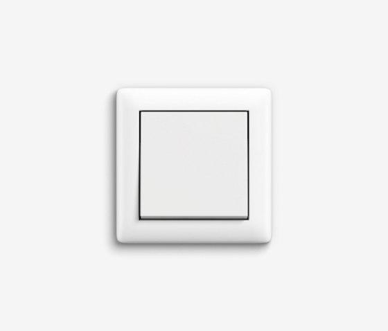 Standard 55 | Switch Pure white matt by Gira | Push-button switches