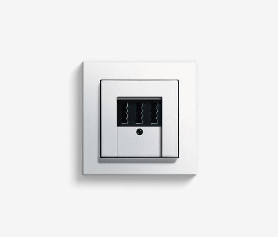 Entertainment   Telephone socket   Pure white glossy (including E2) by Gira   Data communication