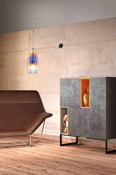 Flute Suspension Lamp by Cangini e Tucci   Suspended lights