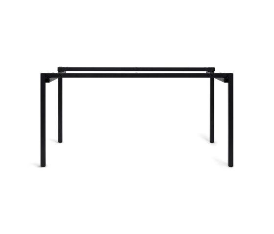 Erik | Table frame, black grey RAL 7021 by Magazin® | Trestles