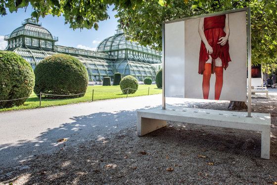 Culture   PHOTO Bench by Atelier Jungwirth   Advertising displays