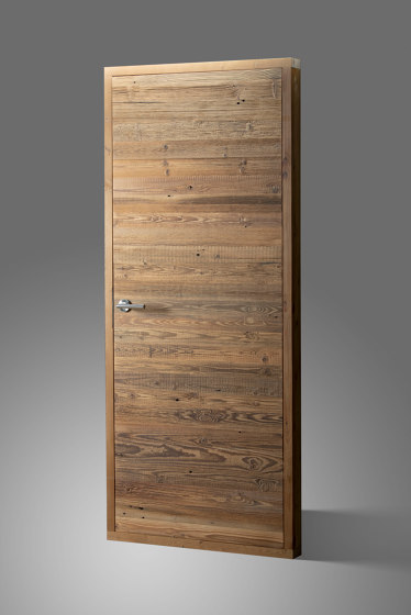 Wood Doors | Reclaimed wood door | Horizontal by Wooden Wall Design | Internal doors