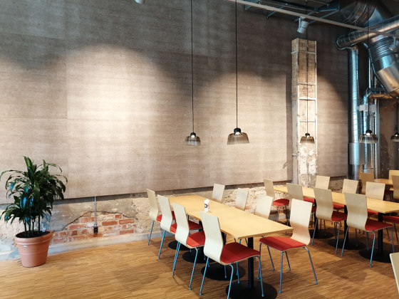 Peat fiber by Okko | Sound absorbing wall systems