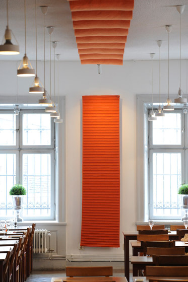 Qwaiet Wool absorber by Okko   Sound absorbing objects