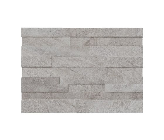 Blended Grey Muretto 3D by Refin | Ceramic tiles