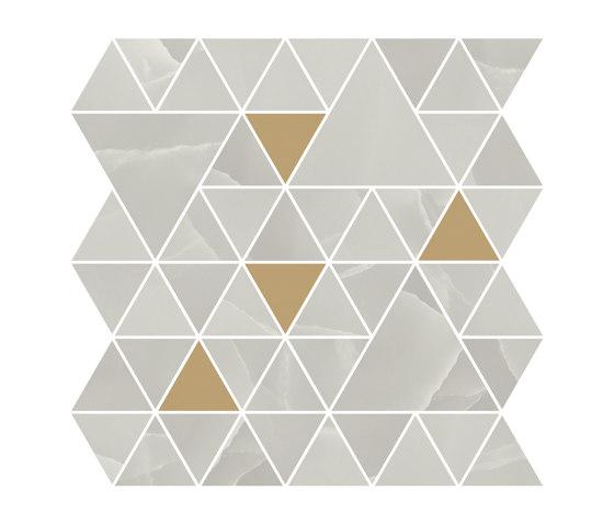 Prestigio Onix Grey Mosaico T by Refin | Ceramic mosaics