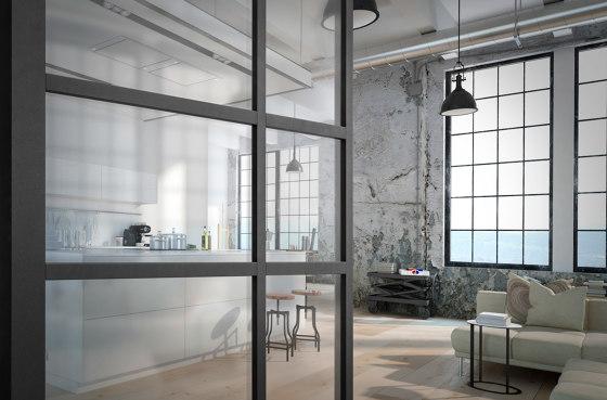 Modern Doors Pivot doors SVING glass by ComTür   Internal doors